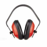 PE Earmuff, Red Color