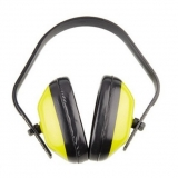 ABS Earmuff, Yellow Color