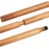 DC Copper Coated Jointed Carbon Gouging Rods