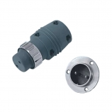 2 Cored Aviation Plug/Socket, Panasonic type