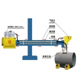Manipulator type flux recovery & recycling machine