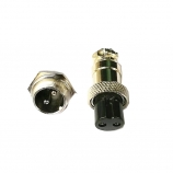 Electrical connectors for Plasma torch&TIG torch, size:GX16,2&3&4 pin male+female 12.5 mm